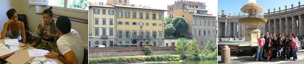 Nyelvtanulás Firenzében