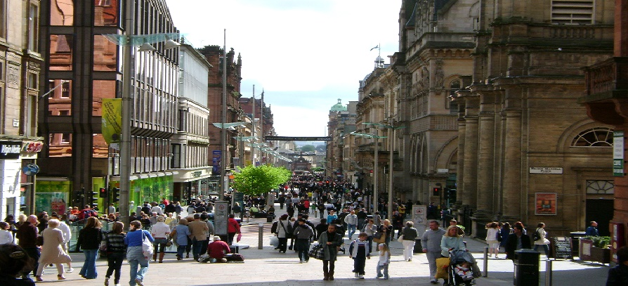 Nyelvtanulás Glasgowban