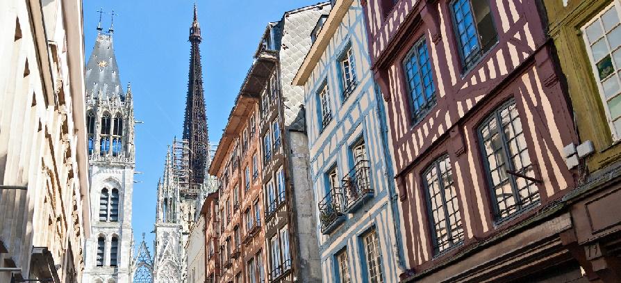 Nyelvtanulás Rouenben