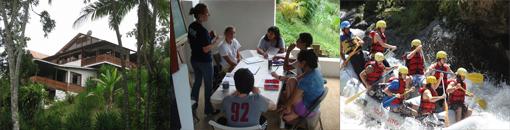 Nyelvtanulás Turrialbában