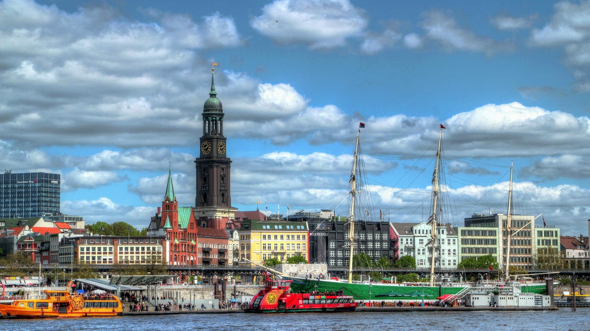 Nyelvtanulás Hamburgban