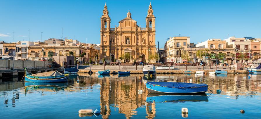 Nyelvtanulás külföldön: Európa / Málta / Sliema // NoVa Experience
